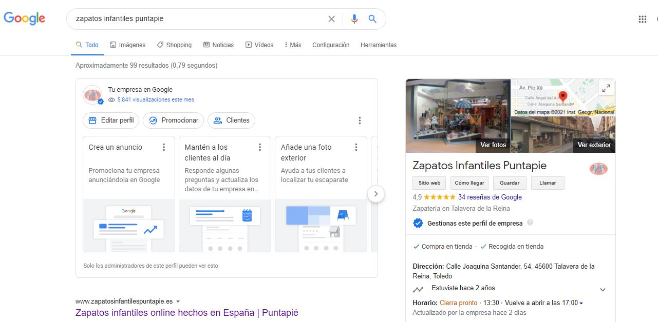 optimizar Google My business