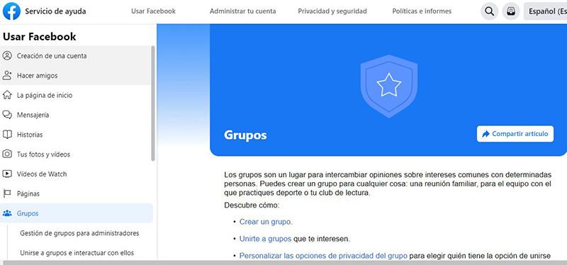 grupos de facebook
